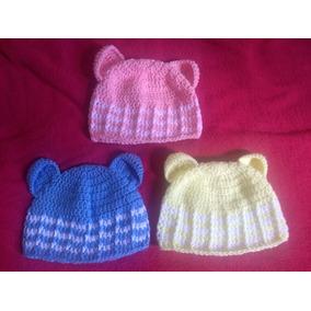 Touca Urso Croche Para Bebe - Roupas de Bebê no Mercado Livre Brasil 6a5a53fc7a9