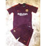 Camisa E Short Oficial Barcelona - Camisas de Times de Futebol no ... f838ceb4b29ab