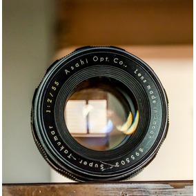 Lente Canon Nikon Sony Takumar M42 55mm F2 Joya ( 50$ )