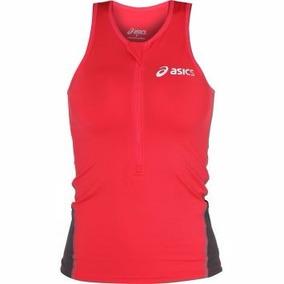 Regata Asics Feminina Compressão Triathlon Ciclismo Running d9b7357a3a8af