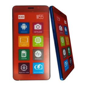 Teléfono Celular Android Dual Sim Kenxinda Kxd W55 Azul Tt