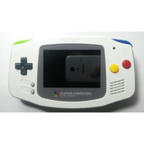 Game Boy Advance Retroiluminada Super Famicom Version