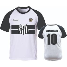 d9f6bbb24f Camiseta Raglan Santos Camisa Personalizada Com O Nome