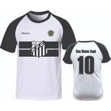 c9166fb785478 Camiseta Personalizada Do Santos Fc no Mercado Livre Brasil