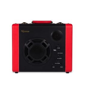 Caixa De Som Amplificada Raveo Pulse Bluetooth 30w Vermelho