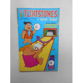 Gibi Os Flintstones Nº 2 - Ed. Abril - 1973