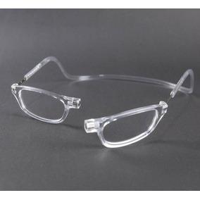5c1b8a476 Armação Óculos Imã Magnético Frontal Unissex Transparente