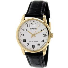 Relógio Casio Dourado Mtp-v001gl-7budf Original Eua