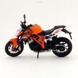 Moto Colección Welly Ktm 1290 Super Duke 1:18 / Schwarz Toyz