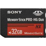 Tarjeta De Memoria Flash Sony Memory Stick Pro-hg Hx Duo De