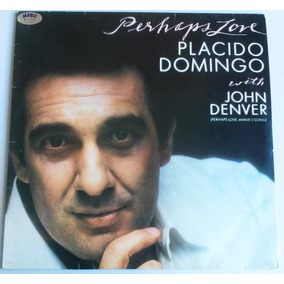 Lp Placido Domingo Perhaps Love Cbs 1981