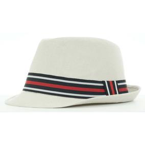 Sombrero Pachuco Lino Ala Corta Vintage Hipster Spa 87-002