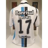 d64e5a43e0 Camisa Gremio Branca 2009 - Futebol no Mercado Livre Brasil