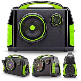 Caixa De Som Amplificadora Bluetooth 120w Com Mic - Sp280