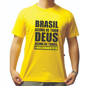 Camisa Camiseta Jair Bolsonaro Presidente Esclusivas