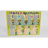 Tablas De Multiplicar Rompecabezas Juguete Didactico
