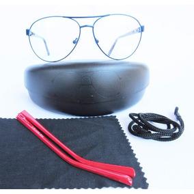 Armação Em Metal Para Óculos De Grau Estilo Aviador Moderno - Óculos ... 1257525b3f