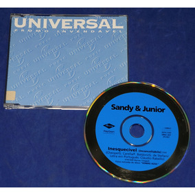 Sandy & Junior - Inesquecível - Cd Single - 1997 Promocional