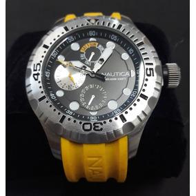e6bcb140ecf Lindo Relógio Nautica N26502 Masculino Espirito Santo - Relógios De ...