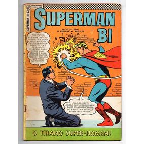 Hq Superman Bi Nº 23 - Ebal - 1968