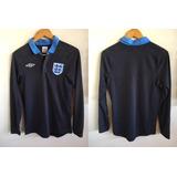 Camisa Inglaterra Goleiro Azul Umbro no Mercado Livre Brasil 2f5b4ee3fdb93
