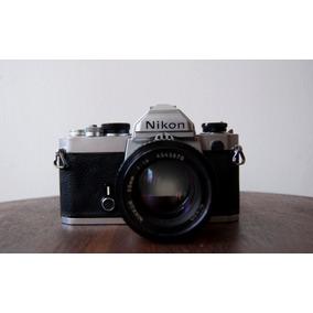 Camara Nikon Fm Clasico En Buen Estado
