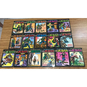 Antigo Gibi Judas - Mini-série Completa C/ 16 Edições - 1989