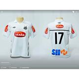 Camisa De Jogo Santos 17 Rodrigo Tabata Tam. G - Camisas de Times ... 14eb78b9521ba