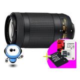 Nikon Lente Af Zoom-nikkor 70-300mm + Gratis M E M O R I A !