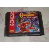 Castlevania Bloodlines Re-pro Para Sega Genesis