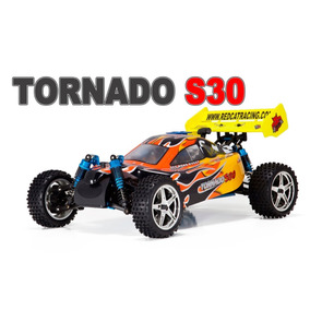 Carro Buggy Rc Tornado S30 Nitro 3.0cc .18 Sh Scala 1/10 New