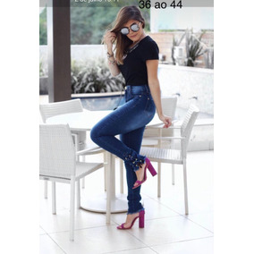 1e36e4a04bae9 Calça Jeans Feminina Com Stretch Manequim 42 Marca Dbz - Calças ...