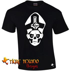 Playera Bandas Ghost B. C. Mod. 09 By Tigre Texano Designs