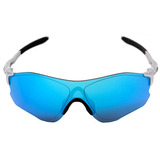 58c0be2cb1f53 Oakley Evzero Path - Óculos De Sol Silver saphire - Original