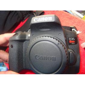Canon T6i Eos Rebel Dslr 24.2 Mp- Wifi + Mochila + Lente