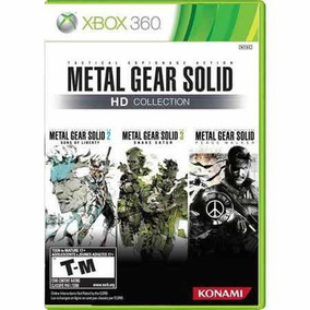 Metal Gear Solid Hd Collection Semi-novo Xbox 360