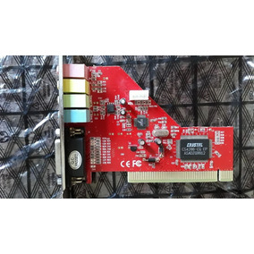 Placa De Som Pci 4 Cannel Sound Card