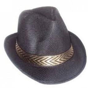 Chapeu Panama Masculino - Chapéus Preto no Mercado Livre Brasil 1056f927f26