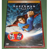 Superman O Retorno (returns) Duplo 2 Dvds Original + Brindes