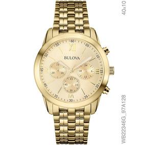8dd2ab04065 Relogio Dourado Bulova Unissex - Relógios De Pulso no Mercado Livre ...