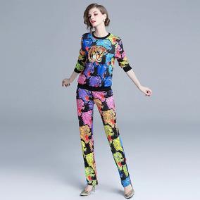 Conjunto Pantssuit Pantera Tigre Multicolor Gucci Envio Msi