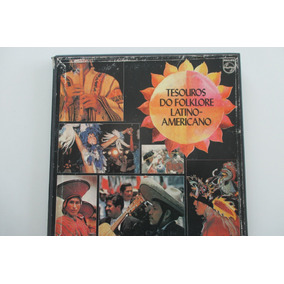 Caixa Com 08 Lps, Tesouros Do Folklore Latino Americano