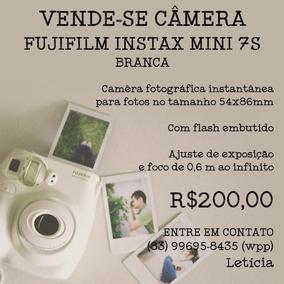 Câmera Instax Mini 7s - Branca