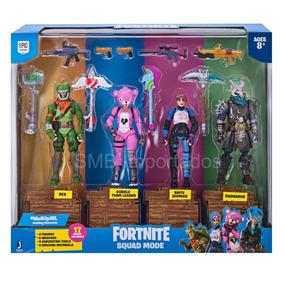 Fortnite 4 Figuras Bonecos Articulados Licenciados Originais