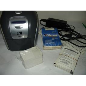 Impresora Carnetizadora Zebra Usada