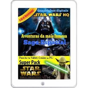 Colecao Hq Star Wars Pack 8 Gb De Aventuras Em Quadrinhos