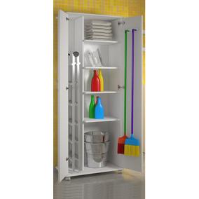 2 Portas Área De Serviço Porta Vassouras Lavanderia Cozinha