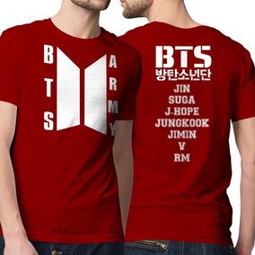 Camiseta Bts - Camisetas Manga Curta para Masculino no Mercado Livre ... 24a086ec31215