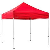 Tenda Gazebo Articulada Vermelha 3x3