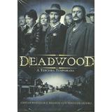 Box - Deadwood - 3ª Temporada Completa - 4 Dvds - Lacrado